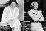 Coco Chanel superelegante com camisa branca (Foto: Pinterest)