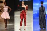 Meus looks favoritos da semana de moda em Dubai, a Fashion Forward, com as coleções de Ezra, Jean Louis Sabaji e The Emperor (Fotos: Getty Images)