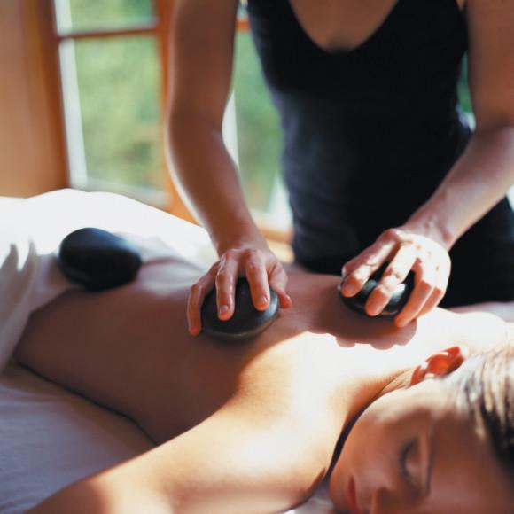 O resort oferece em seu spa diferentes opções de tratamentos e massagens