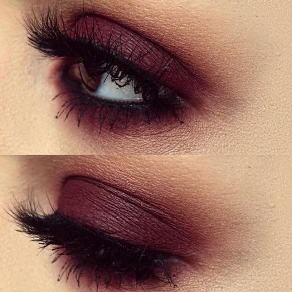 Marsala no olhos