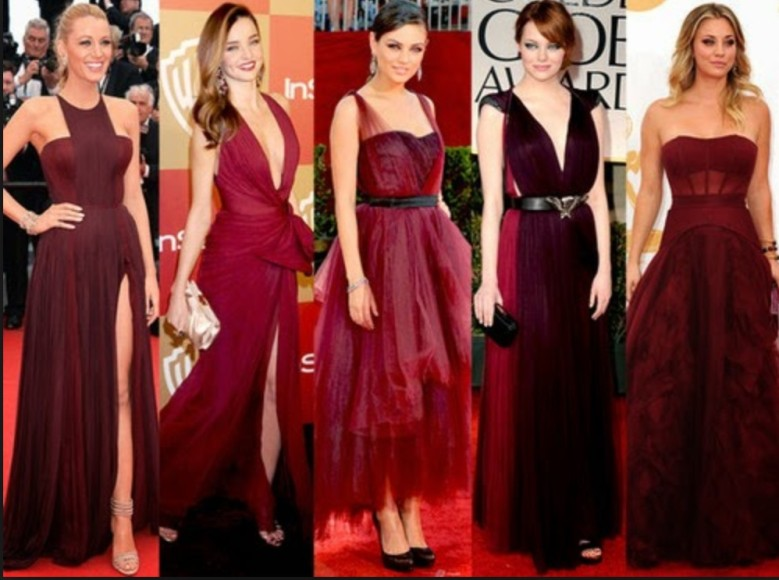 Marsala no red carpet