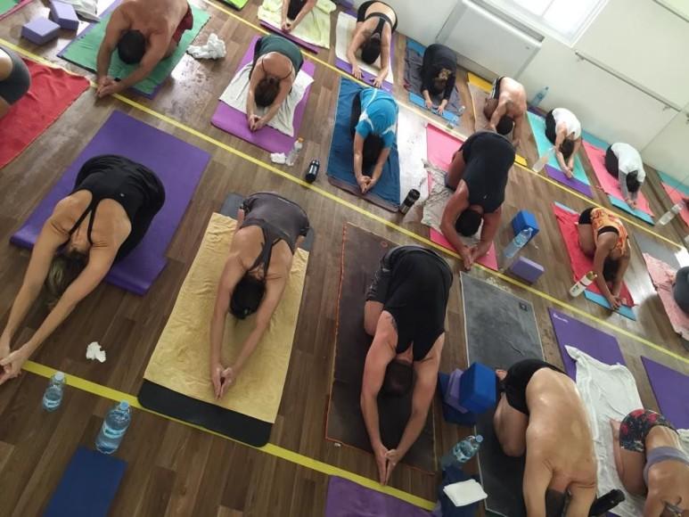(Imagem: Hot Yoga São Paulo/Marcelo Saraiva)