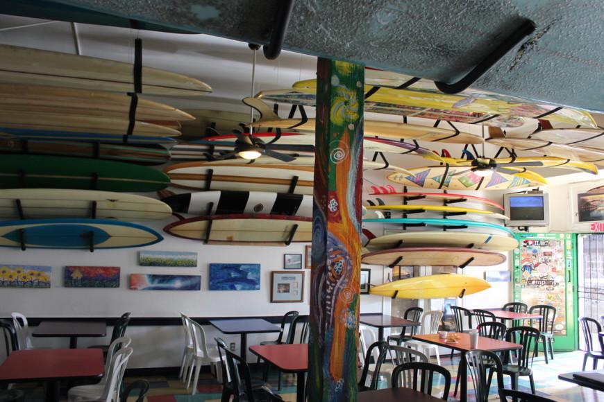 Restaurante Taco Surf, na Califórnia (Imagem: Divulgação)