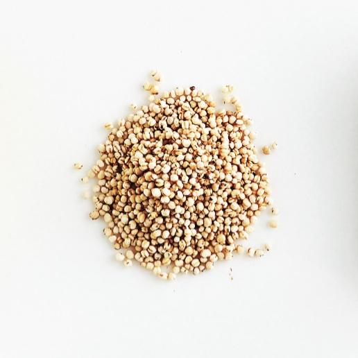 Puffed-quinoa
