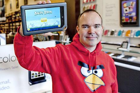 Peter Vesterbacka Angry Birds