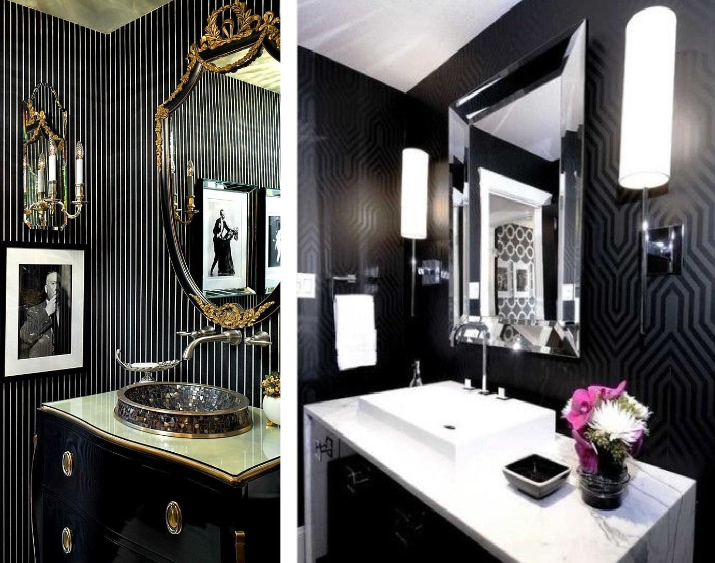 Como decorar sua casa usando preto e branco Fabiana Scaranzi #7E7D4D 1382x1088 Banheiro Branco Como Decorar