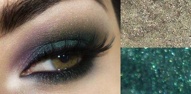 maquiagem-paleta verde