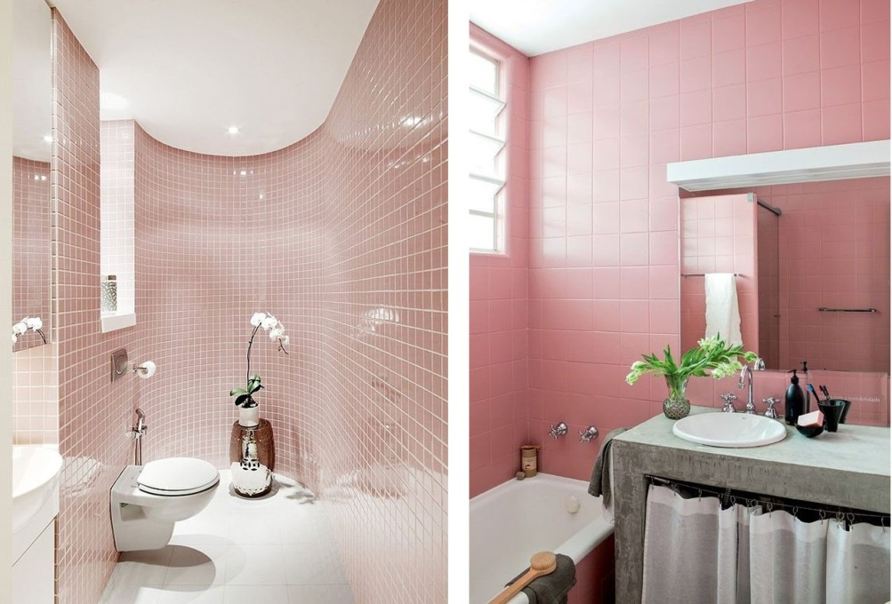 rose banheiro