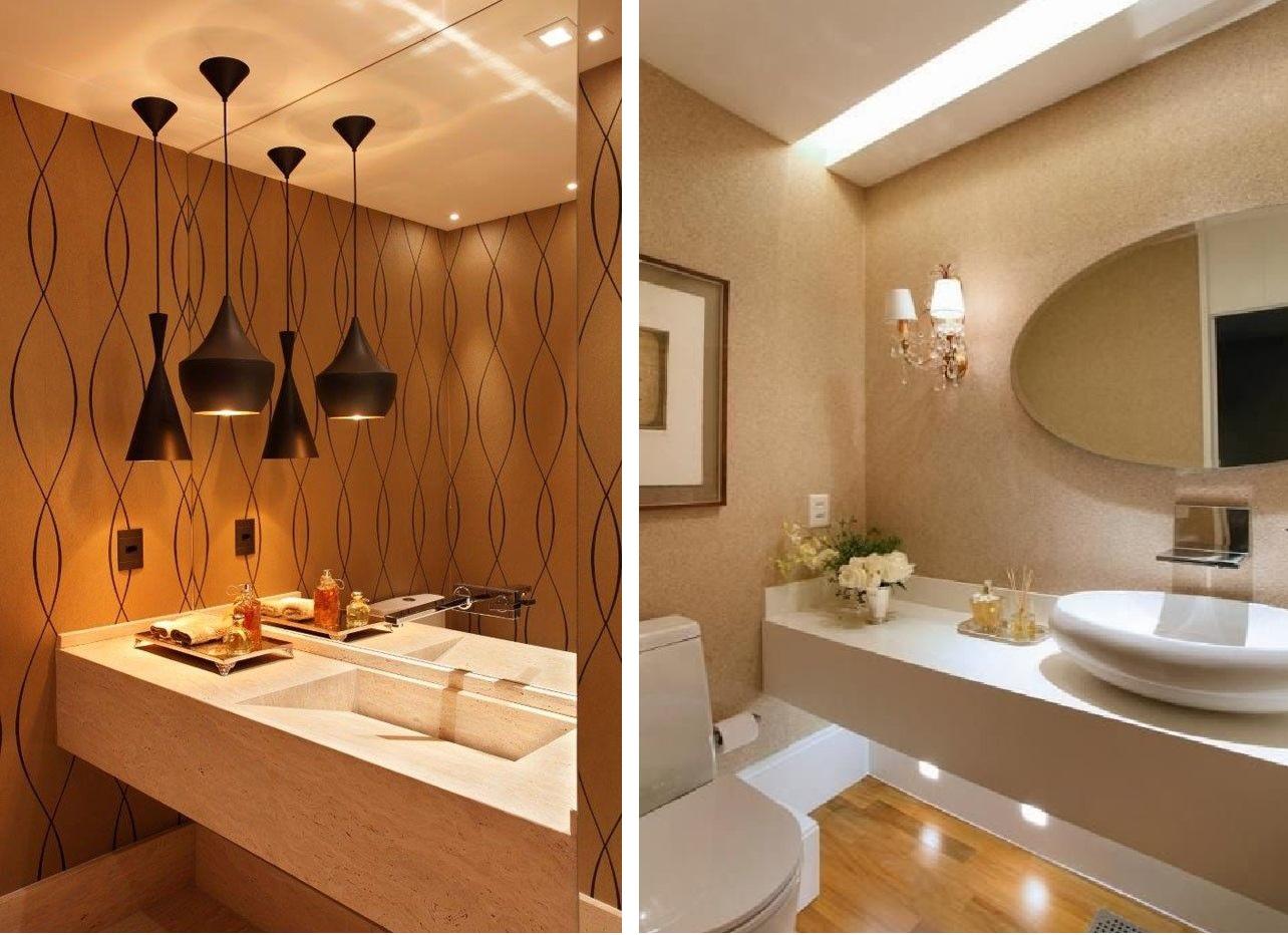 Como decorar sua casa usando papel de parede Fabiana Scaranzi #BE7D0D 1284x932 Banheiro Antigo Como Decorar
