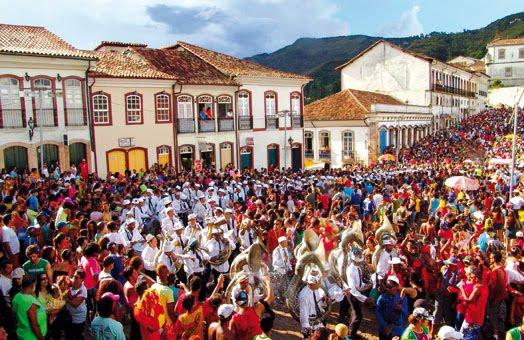 Farra e diversão no Carnaval de Diamantina (Imagem: Divulgação)