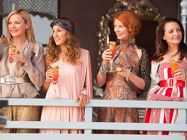 As amigas Samantha, Carrie, Miranda e Charlotte the Sex and The City não abriam mão de um bom drink sempre que se encontravam!