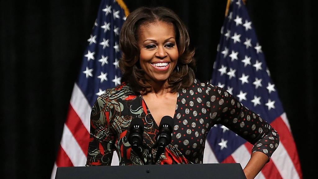 A primeira-dama dos Estados Unidos, Michelle Obama, é vista por muitos como modelo de inspiração.