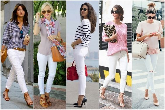 calça branca 28