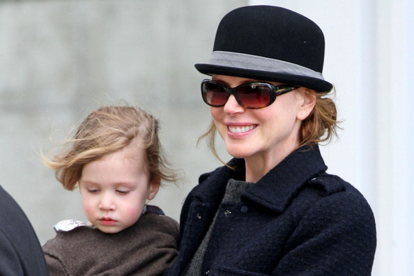 Nicole Kidman e a filha Sunday Rose