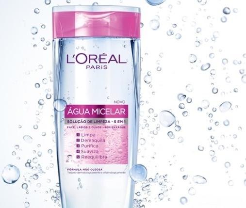 Água micelar da L'Oréal Paris, R$ 30