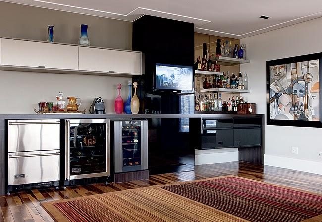 Como montar um bar charmoso em casa fabiana scaranzi - Bares pequenos para casas ...