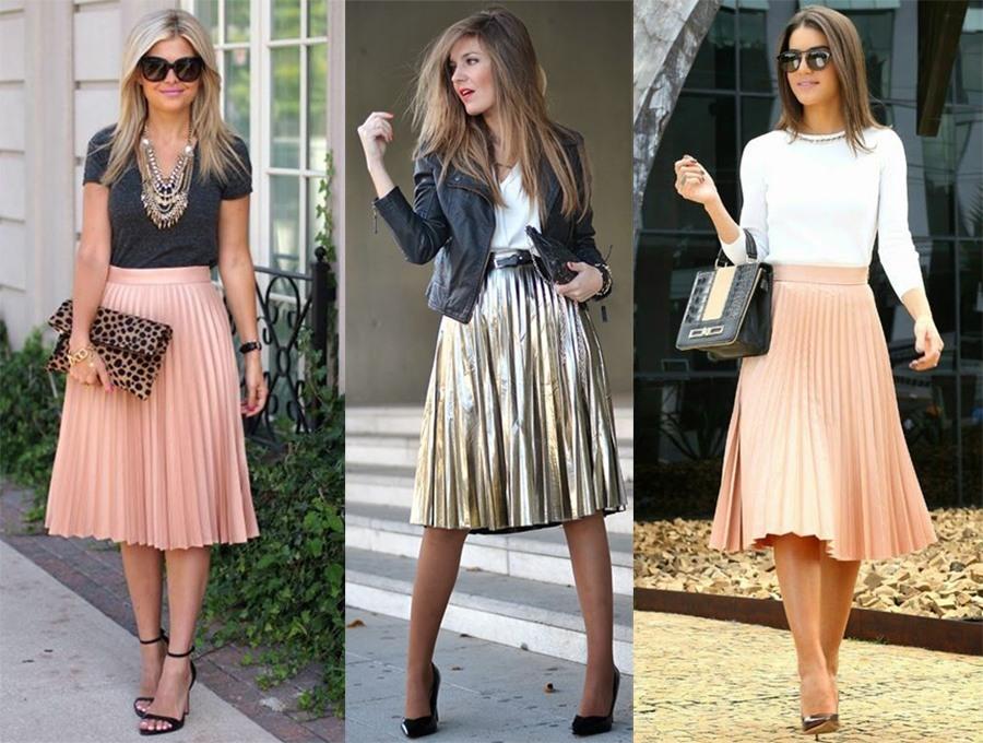 90ae7832e Como usar: saia plissada colorida ou metalizada | Fabiana Scaranzi