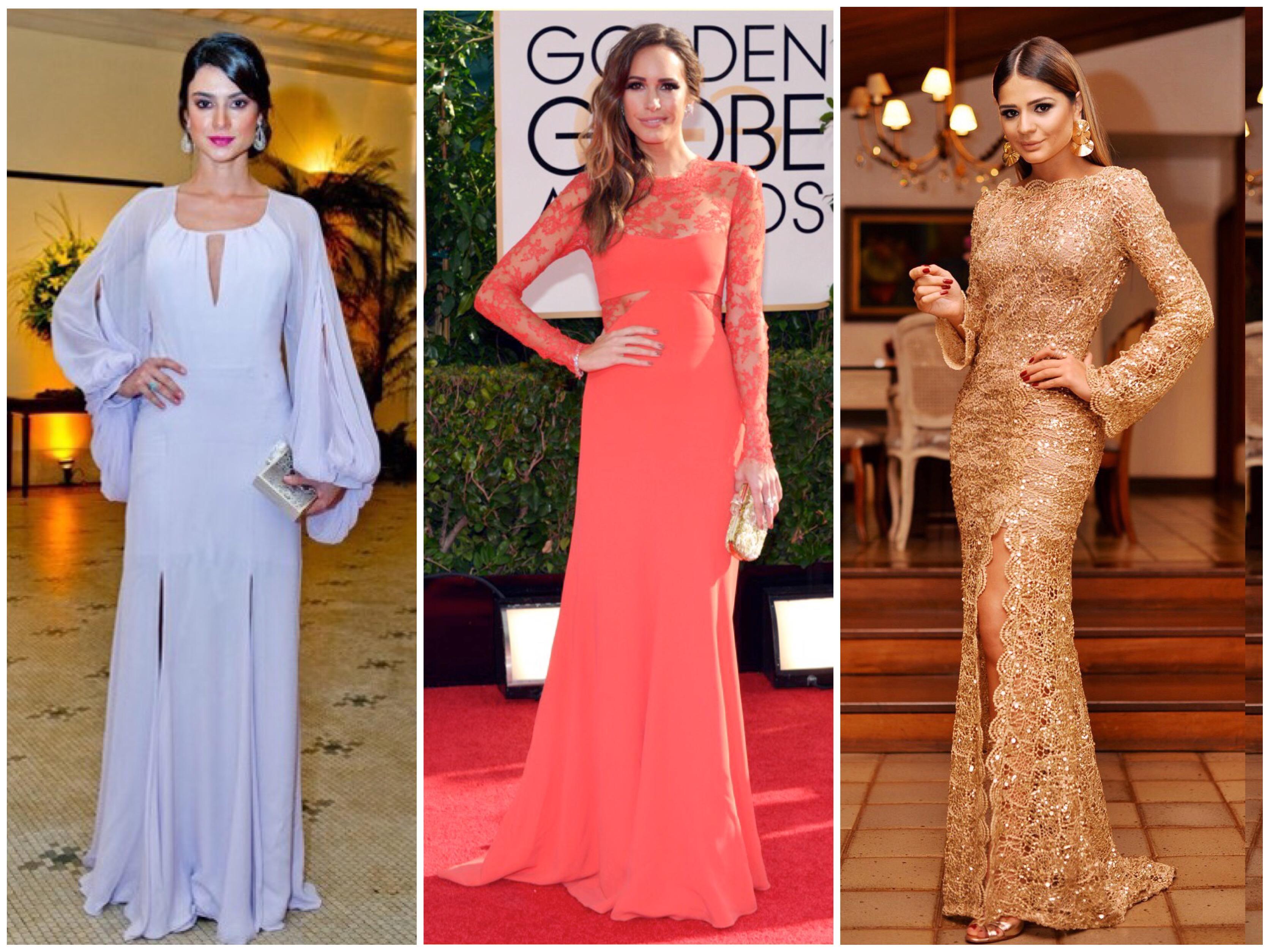 cbe3edc4e396 30 vestidos de festa pra você se inspirar e mandar fazer | Fabiana ...