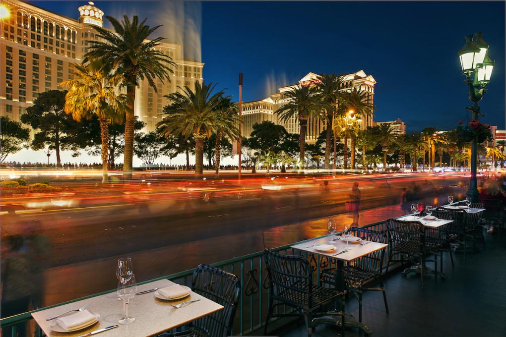 Hexx Kitchen Bar é um dos restaurantes a céu aberto em Las Vegas