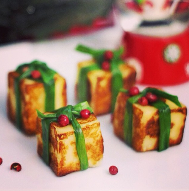40 ideias de aperitivos para sua ceia de natal fabiana for Canapes para o natal