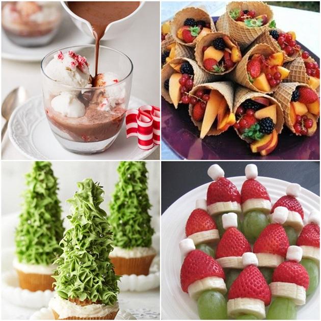 40 ideias de aperitivos para sua ceia de Natal Fabiana Scaranzi -> Decoração De Frutas Para Mesa