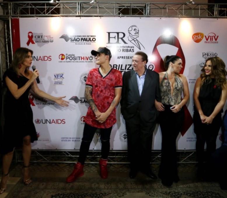 O evento contou também com a presença de MC Gui, Raul Gil, Simoni e Wanessa Camargo