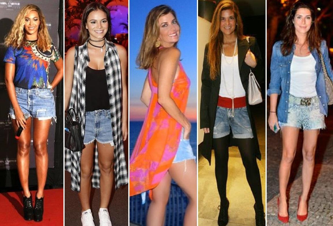 3d564e76add89 Como usar shorts jeans dos 20 aos 50 anos (em qualquer estação!)   Fabiana  Scaranzi