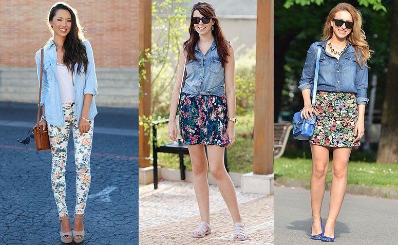 camisa-jeans-floral