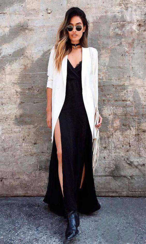 moda - vestido com bota foto de dentro 4