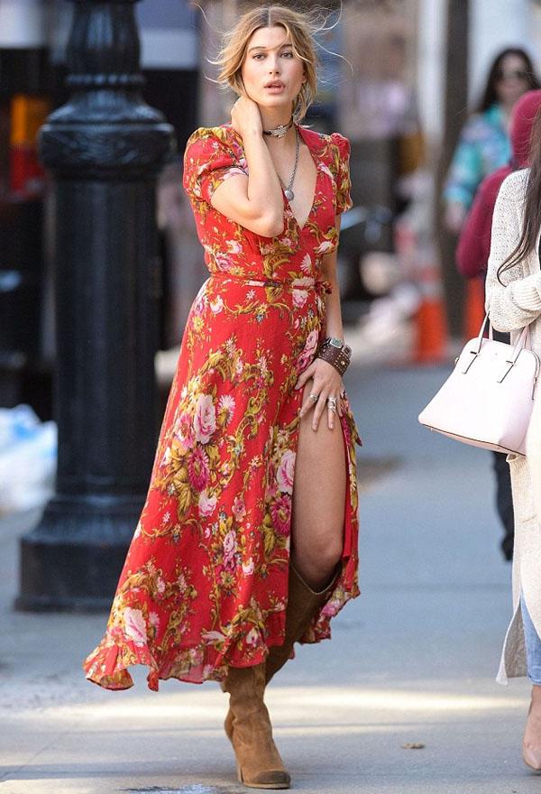 moda - vestido com bota foto de dentro 5