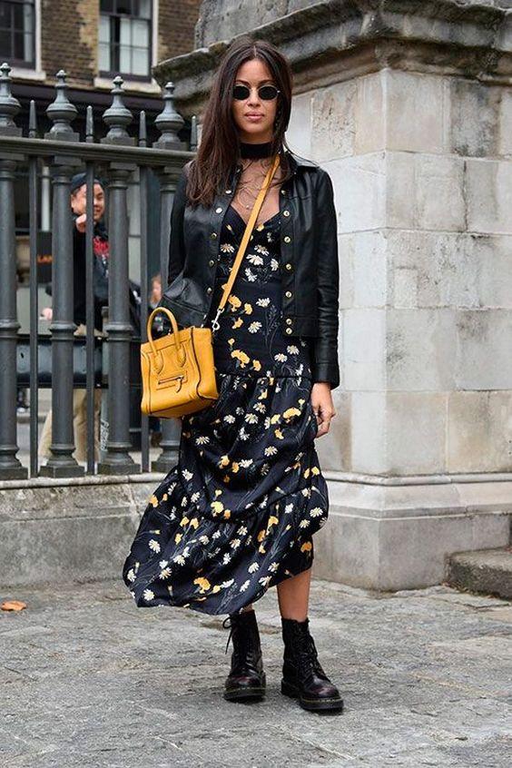 moda - vestido com bota foto de dentro 8